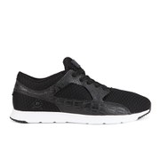 Ransom Men's Valley Lite Trainers - Black Croc/White