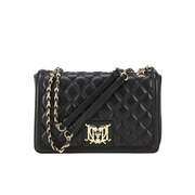 Love Moschino Women's Quilted Cross Body Bag - Black