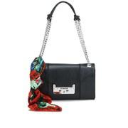 Love Moschino Women's Saffiano Shoulder Bag - Black