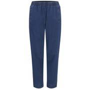 A.P.C. Women's Countryside Cotton Twill Denim Trousers - Indigo
