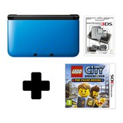 Nintendo 3DS XL Blue/Black LEGO City Undercover Pack