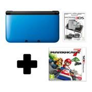Nintendo 3DS XL Black/Blue Mario Kart 7 Pack
