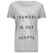 Zoe Karssen Women's Thunder T-Shirt - Grey