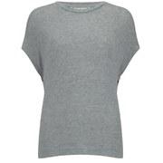 By Malene Birger Women's Lunja Top - Light Grey Melange