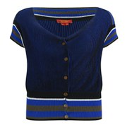 Vivienne Westwood Red Label Women's Marilyn Knitted Cardigan - Vanise Blue