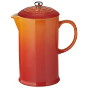 Le Creuset Stoneware Cafetiere with Metal Press, 750ml - Volcanic