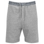 Luke Men's Fearless Jogger Shorts - Light Grey Marl