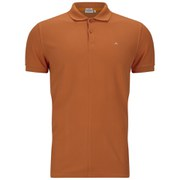 J.Lindeberg Men's Rubi Slim Fit Polo Shirt - Orange