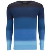 John Smedley Men's Corsten Slim Fit Sea Island Cotton Pullover - Cloudless Blue