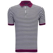 John Smedley Men's Jaedon Slim Fit Sea Island Cotton Polo Shirt - Raspberry