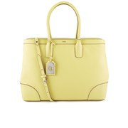 Lauren Ralph Lauren Women's Fairfield City Tote Bag - Yellow Lemon Chiffon
