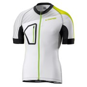 Look Short Sleeve Jersey - Ultra White/Yellow
