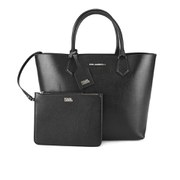 Karl Lagerfeld Karl Kolor Shopper Bag - Black