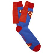 DC Comics Superman Classic Logo Caped Socks