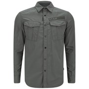 G-Star Men's Rovic Combat Shirt - GS Grey Combat Ripstop