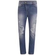 Vivienne Westwood Anglomania Women's New Boyfriend Jeans - Stonewashed Distressed