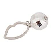 Lulu Guinness Women's Disco Ball Charm Keyring - Silver