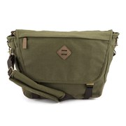 Animal Men's Padstow PU Trim Satchel - Khaki