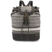 Animal Women's Kirsten Canvas Backpack - Black/White