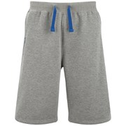 Kooga Men's Fleece Shorts - Grey Marl