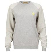 Peter Jensen Women's Reverse Sweatshirt - Grey Marl