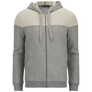 T by Alexander Wang Men's Frenchterry Zipped Hoodie - Heather Grey