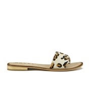 Ravel Women's Cusseta Cracked Flat Slide Sandals - Leopard