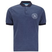 Boxfresh Men's Kenstone Polo Shirt - Blue Indigo