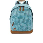 Mi-Pac Premium Peruvian Diamonds Backpack - Turquoise