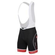 Castelli Free Tri Bib Shorts - White/Black/Red