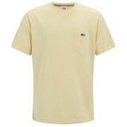 Lacoste L!ve Men's Pocket T-Shirt - Yellow
