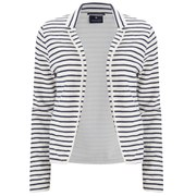 Maison Scotch Women's Sweat Blazer - White