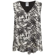 Vero Moda Women's Nia Cropped Top - Snow White