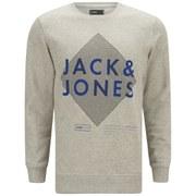 Jack & Jones Men's Covan Hoody - Treated White