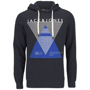 Jack & Jones Men's Covan Hoody - Dress Blue