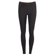 Skins A200 Women's Active Compression Long Tights - Papaya - Black/Orange