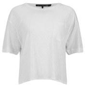 rag & bone Women's Deal Crop T-Shirt - Off White