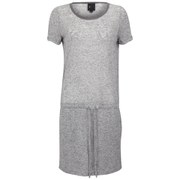 Six Ames Women's Ramona Drawstring Dress - Grey Marl