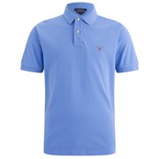 GANT Men's Solid Pique Rugger Polo Shirt - Pacific Blue