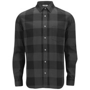 Cheap Monday Men's Air Denim Shirt - Black Denim Check