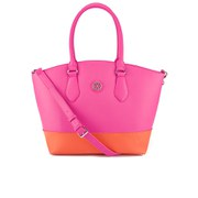 Christian Lacroix Women's Eternity Colour Block Tote - Fuschia Orange