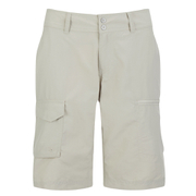 Columbia Women's Silver Ridge 10 Inch Cargo Shorts - Fossil Bone