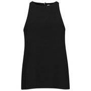 Helmut Lang Women's Raze Drape Top - Black