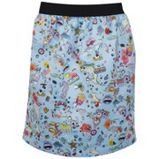 Markus Lupfer Women's Sticker Print Vivian Skirt - Blue
