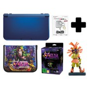 New Nintendo 3DS XL Metallic Blue + Majoras Mask 3D Special Edition