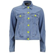 Love Moschino Women's Denim Jacket - Blue
