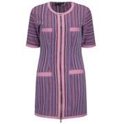 Love Moschino Women's Canvas Striped Dress - Pink