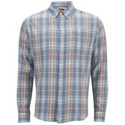 Levi's Men's Long Sleeve Slim Fit Classic Shirt - Blue