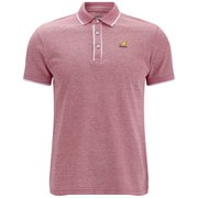 Kangol Men's Hinton Polo Shirt - Red Marl
