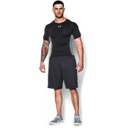 Under Armour Men's Heat Gear Armourstretch Short Sleeve Training T-Shirt - Black/Graphite